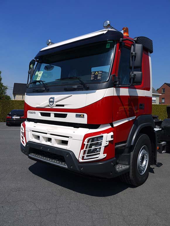 Carrosserieherstellingen vrachtwagens