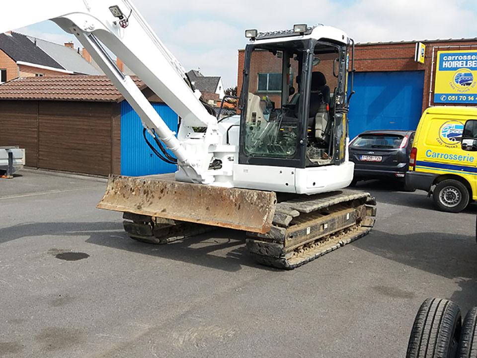 herstellen van de carrosserie bulldozer