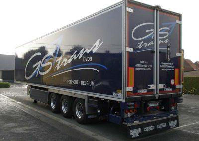 Herspuiten vrachtwagen - carrosserieherstellingen vrachtwagen Roeselare