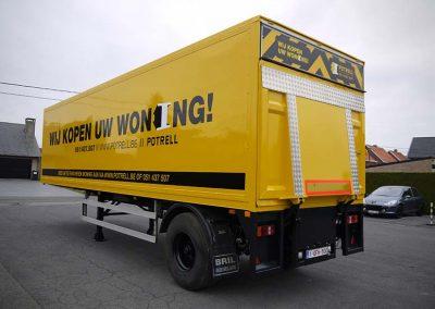 Herstellen carrosserie vrachtwagens West-Vlaanderen